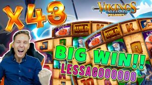 Viking unleashed BIG WIN – Huge win on Casino Game – free spins (Online Casino)