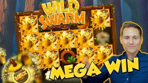 BIG WIN !!! WILD SWARM Велізарная перамога - Бонусная кампіляцыя - Казіно - бясплатныя спіны (Інтэрнэт-слоты)
