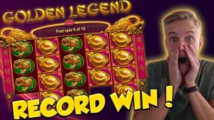 OPPTAK VINN !!! Golden Legend Big win - Casino - gratisspinn (Online Casino)