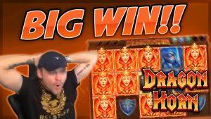 "BIG WIN !!! Dragon Horn BIG WIN - ""CasinoDaddy"" kazino žaidimai (lošimai)"
