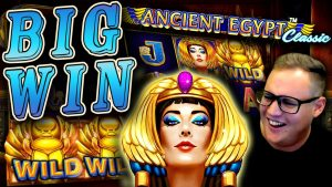 Surprise BIG WIN on Ancient Egypt Classic!