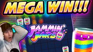 MEGA THẮNG !!! JAMMIN JARS BIG WIN - Trò chơi sòng bạc từ CasinoDaddy Live Stream