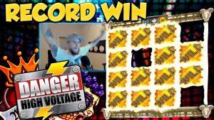 RECORD WIN!!! Danger High Voltage Big win – Casino – Online slots – Huge Win