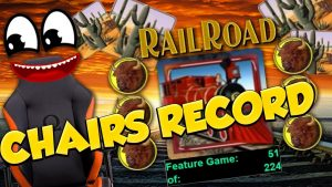 Chairs BIG WIN!!! Railroad – Huge Win – Casino Games – free spins (Online Casino)
