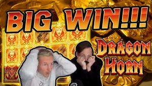 Dragon Horn BIG WIN €5 bet!! Online Casino Games from CasinoDaddy
