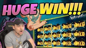 MEGA THẮNG! Wishmaster BIG WIN - Kiếm được nhiều tiền từ sòng bạc từ CasinoDaddy