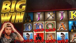 BIG WIN!! Vampires BIG WIN – Casino game from Casinodaddy stream