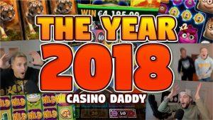 CasinoDaddy BIGGEST WIN 2018 – BONUS COMPILATION 2018