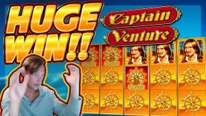 HOLEHA WIN !!! Kāhea ʻO Kāpena Venture i ka Wā !! Nā Pāʻani Pūnaewele mai CasinoDaddy Live Stream