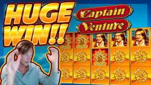 HUGE WIN!!! Captain Venture BIG WIN!! Casino Games from CasinoDaddy Live Stream