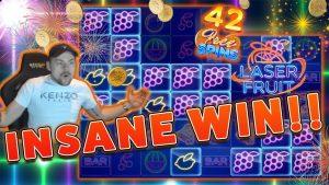MASIVE WIN !! Fruta me lëng BIG WIN - WIN ENERGJOHET në Kazino Online nga Casinodady