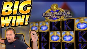 BIG WIN!!! Magic Mirror Delux 2 BIG WIN!! Online Casino slot from CasinoDaddy Live Stream