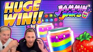 HUGE WIN!!! Jammin Jars BIG WIN!! Casino Games from CasinoDaddy Live Stream