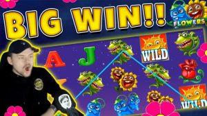 Flowers BIG WIN – Casino Game from CasinoDaddy Live Stream