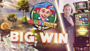 BIG WIN!!!! Multifruit 81 Big win – Casino – Gambling (Whole session)