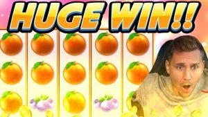 HUGE WIN!!! Extra Juicy BIG WIN – Casino game from CasinoDaddy Live Stream