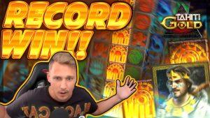 RECORD WIN!! Tahiti Gold BIG WIN – Epic Win on Online Slot from Casinodady