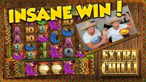 HUGE WIN!! Extra Chilli Big Win – Casino Games – online casino – (MUST SEE)