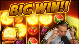 BIG WIN!!! Inferno Star BIG WIN – Casino Games from CasinoDaddy (Gambling)