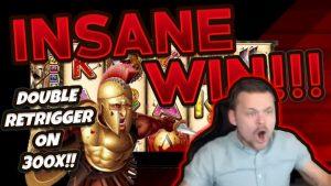 RECORD WIN!!! 300 Shields Big Win – Casino Games – Huge win on Online slots from CasinoDaddy