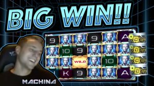 MASSIVE WIN!! Machina BIG WIN – Epic Win on Casino games from Casinodady LIVE STREAM