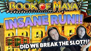 Book of Maya BIG WIN – Casino Games – (Online Casino)
