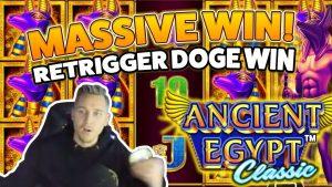 Oud Egypte klassiek BIG WIN - Enorme overwinning op casinospellen - gratis spins (online casino)