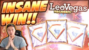 RECORD WIN !!! LeoVegas Megaways BIG WIN - CasinoDaddy HUGE WIN v kasinové hře