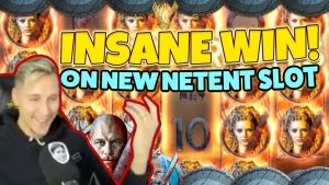 Vikings BIG WIN!!! New netent Huge win – Casino Games – (Online Casino)