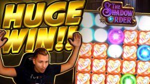 HUGE WIN!!! Shadow Order BIG WIN – Casino game from Casinodaddy stream