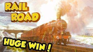CHIẾN THẮNG LỚN!!!! Railroad Big win - Sòng bạc - Cổ phần 10 € (Giới hạn cao)