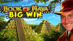 BIG WIN!!!! Book of Maya big win – Casino – Bonus round (Casino Slots) From Live Stream