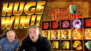 HUGE WIN!!! Royal dynasty BIG WIN – Casino game from CasinoDaddy Live Stream