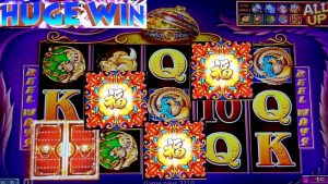 BIG WIN !! 5 Treasures Slot Bonus BIG WIN w/$8.80 Max Bet | FORTUNE KING GOLD Slot Max Bet Bonus