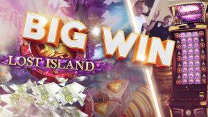 PERINGATAN BESAR !!!! Lost Island Big win - Casino - Bonus Round (Win Besar)