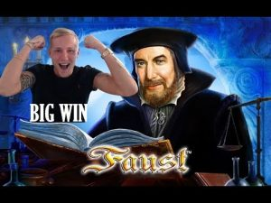 Faust BIG WIN – HUGE WIN – Casino Games from LIVE Stream