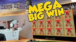 GRANDE VITÓRIA!!!! Magic Mirror deluxe 2 Grande vitória - Cassino - Enorme Vitória (Cassino Online)