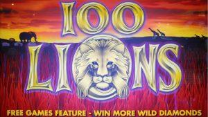SUPER BIG WIN on 100 LIONS SLOT MACHINE – PALA CASINO PART 1.  Aristocrat Classic