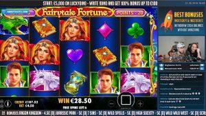 NAGY NYEREMÉNY!!! Fairytale fortune BIG WIN - Online nyerőgépek - kaszinó (szerencsejáték)