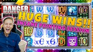 Danger High Voltage Big Win – Casino – Game was HOT HOT HOT