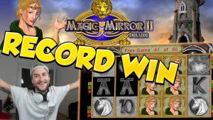 """ĮRAŠYTI LAIMĄ !!!! """"Magic Mirror Delux 2"""" didelis laimėjimas - kazino - didžiulis laimėjimas (internetinis kazino)"""