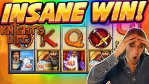 INSANE WIN! Knights Life BIG WIN – Casino Games from Casinodaddy live stream