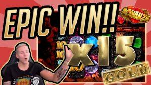 Үлкен жеңіс !!! Bonanza BIG WIN - CasinoDaddy-тен Казино (Казино)