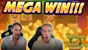 MEGA WIN !!! Temple of Treasure BIG WIN - Juego de casino de CasinoDaddy Live Stream