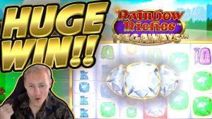 CHIẾN THẮNG !! Rainbow Riches Megaways CHIẾN THẮNG LỚN !! Slot trực tuyến từ CasinoDaddy Live Stream