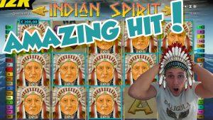 Online Slot – INDIAN SPIRIT Big Win and LIVE CASINO GAMES (Casino Slots) Huge win