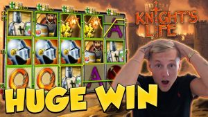 BIG WIN!!! Knights Life big win – Casino Games – free spins (Gambling)