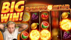 EBRO gets a BIG WIN!!! Inferno Star BIG WIN – Casino Games played on CasinoDaddys stream
