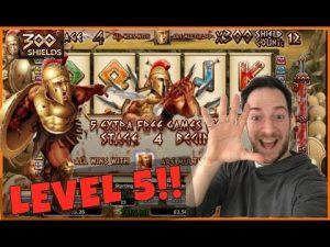 300 SCHILDEN NIVEAU 5 MEGA GROTE WINST !! (Online slots en casino)