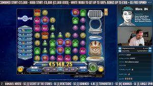 """1000x?!?! """"Reactoonz"""" didelis laimėjimas - didžiulis laimėjimas - Kazino žaidimai - """"Mega Win"""" (internetinis kazino)"""